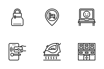 Hotel Facilities Icon Pack