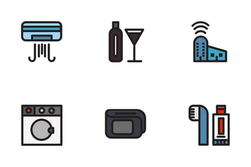 Hotel Facillities Icon Pack