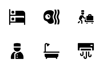 Hotel Service Icon Pack