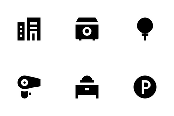 Hotel Services Icon Pack