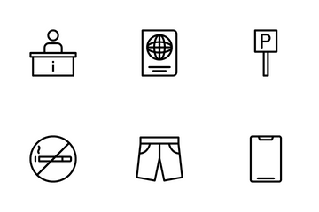 Hotel & Travel Icon Pack