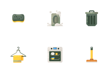 House Cleaning Icon Pack