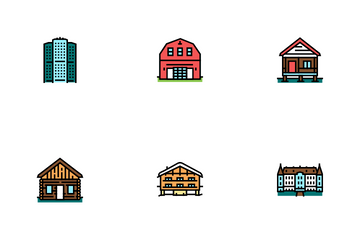 House Constructions Icon Pack