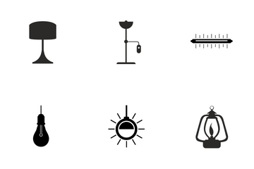 House Lamps Icon Pack