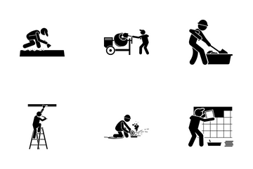 House Renovation Icon Pack