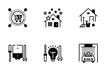 House Service Icon Pack