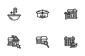 House Shifting Icon Pack