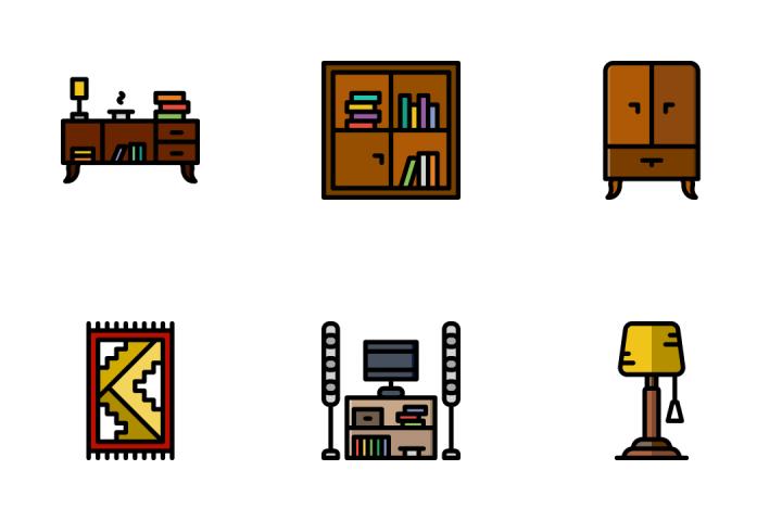 Household 2 - Retro Icon Pack