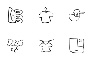 Household Chores Icon Pack