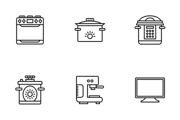 Household Devices And Appliance  Icon Pack