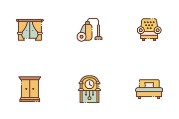 Household & Furniture Icon Pack