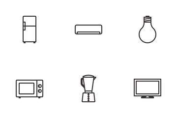 Household Items Icon Pack