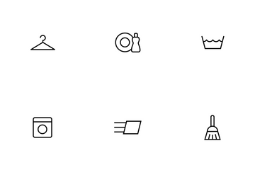 Household Thinline Icon Pack