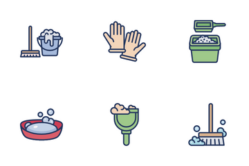 Housekeeping Icon Pack