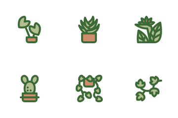 Houseplant Icon Pack