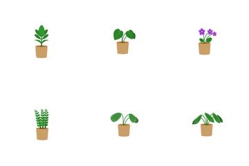 Houseplants Icon Pack