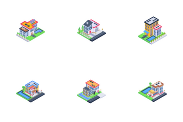 Houses Icon Pack