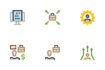 HR Employees Icon Pack