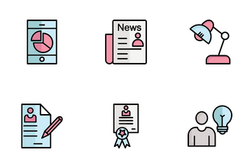 HR Management Icon Pack