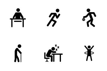 Human Activities Icon Pack