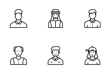 Human Avatars Icon Pack