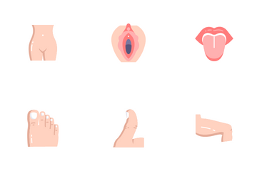 Human Body Parts Icon Pack