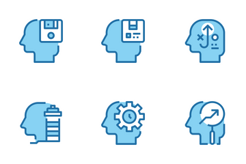 Human Mind Icon Pack