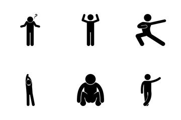 Human Reaction Icon Pack