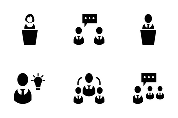 Human Resource Icons Icon Pack