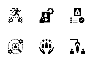Human Resource Management Icon Pack