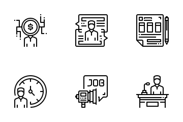Human Resources  Icon Pack