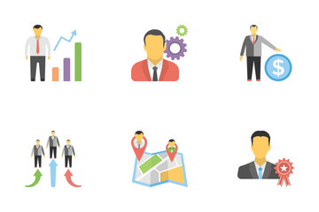 Human Resources Flat Icons 1 Icon Pack