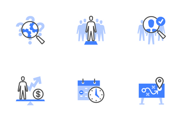 Human Resources Management Icon Pack