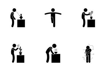 Human Senses Icon Pack
