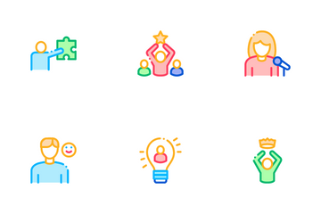Human Talent Icon Pack