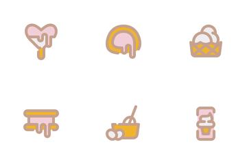 Ice Cream Day Icon Pack