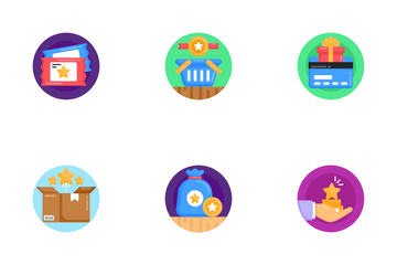 Discounts And Loyalty Programs Icon Pack