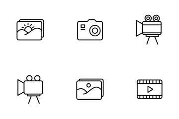 Image And Video Icon Pack