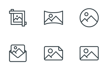 Images & Image Files Icon Pack