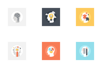 Imagination And Mind Power Icon Pack