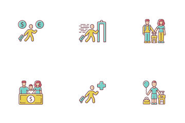Immigration Icon Pack