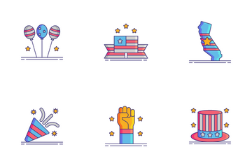 Independence Day Icon Pack