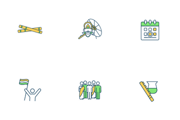 Indian Holiday Icon Pack