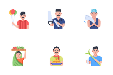 Indian Local Businesses Icon Pack