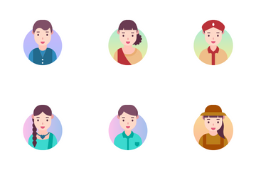 Indian People Icon Pack