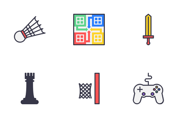 Indoor Games Icon Pack