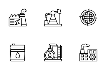 Industrial And Construction 2 Icon Pack
