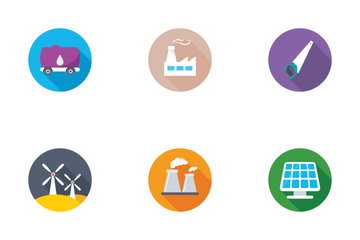 Industrial And Construction Flat Icons 1 Icon Pack