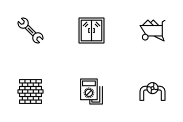 Industrial & Construction Icon Pack