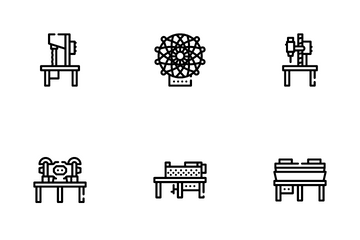 Industrial Machines Icon Pack